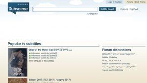 Website untuk mendownload subtitle