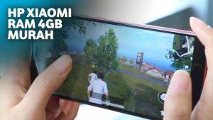 smartphone Xiaomi 4GB RAM