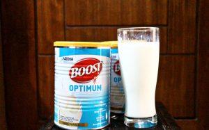 Nestle Boost Optimum, Susu Bermanfaat Untuk Orang Tua